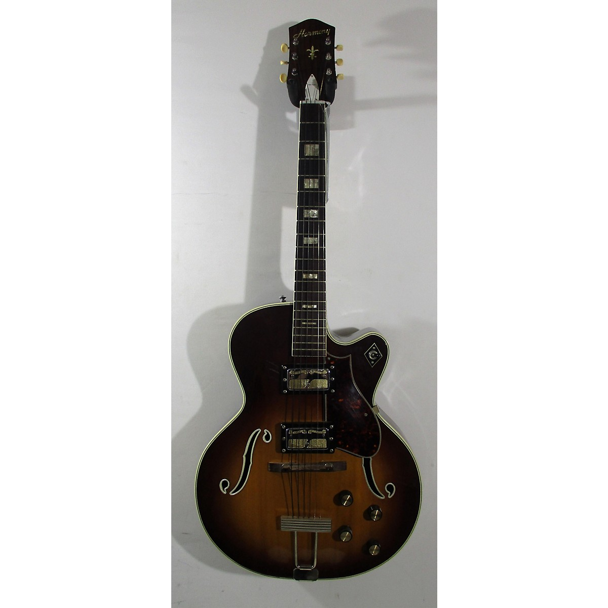 Harmony 1969 H68 Deep Body Electric Archtop Hollow Body Electric Guitar