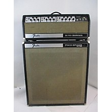 Fender 1969 SS-100 W/ XFL-1000 Powered Cab Solid State Guitar Amp Head