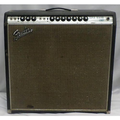 Fender 1969 Super Reverb 4x10 Tube Guitar Combo Amp