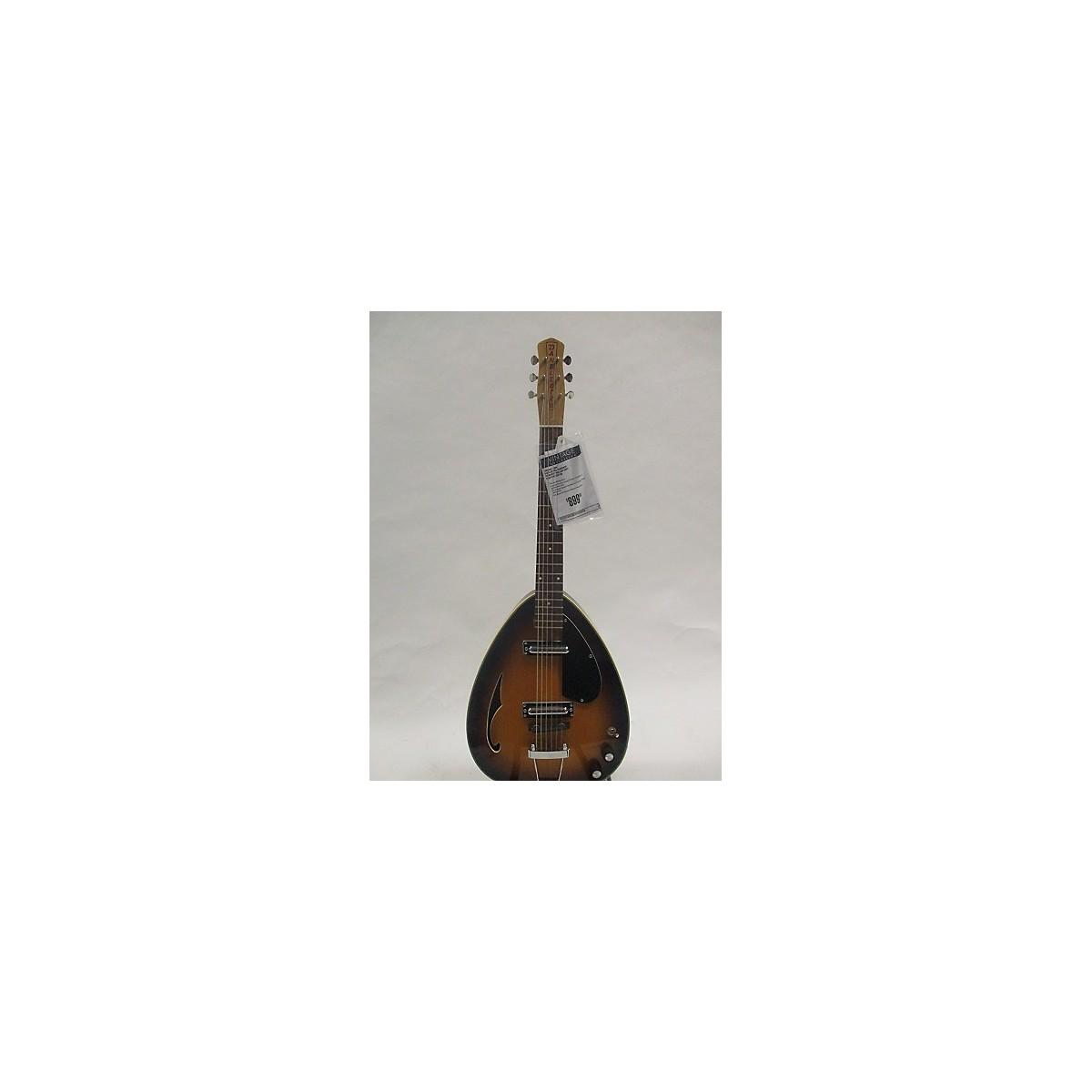 Danelectro 1969 Teardrop Hollow Body Electric Guitar