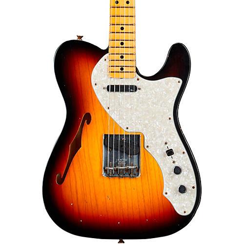 Fender Custom Shop 1969 Telecaster Thinline Journeyman Relic Electric Guitar