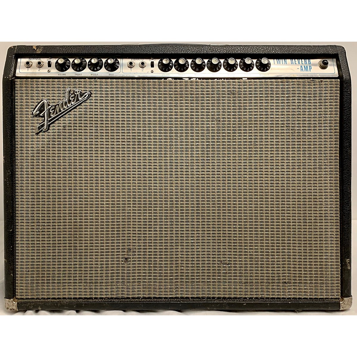 Fender 1969 Twin Reverb 2x12 Tube Guitar Combo Amp
