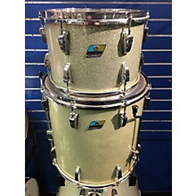 Ludwig 1970 1970 Ludwig 3Pc White Sparkle Drum Kit