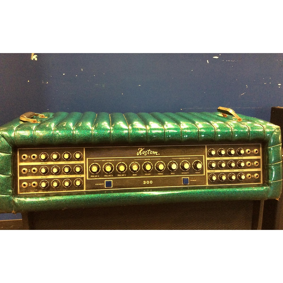 Kustom PA 1970 300 Solid State Guitar Amp Head