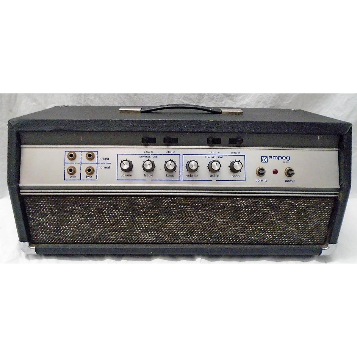 Ampeg 1970 B25 Head Tube Guitar Amp Head