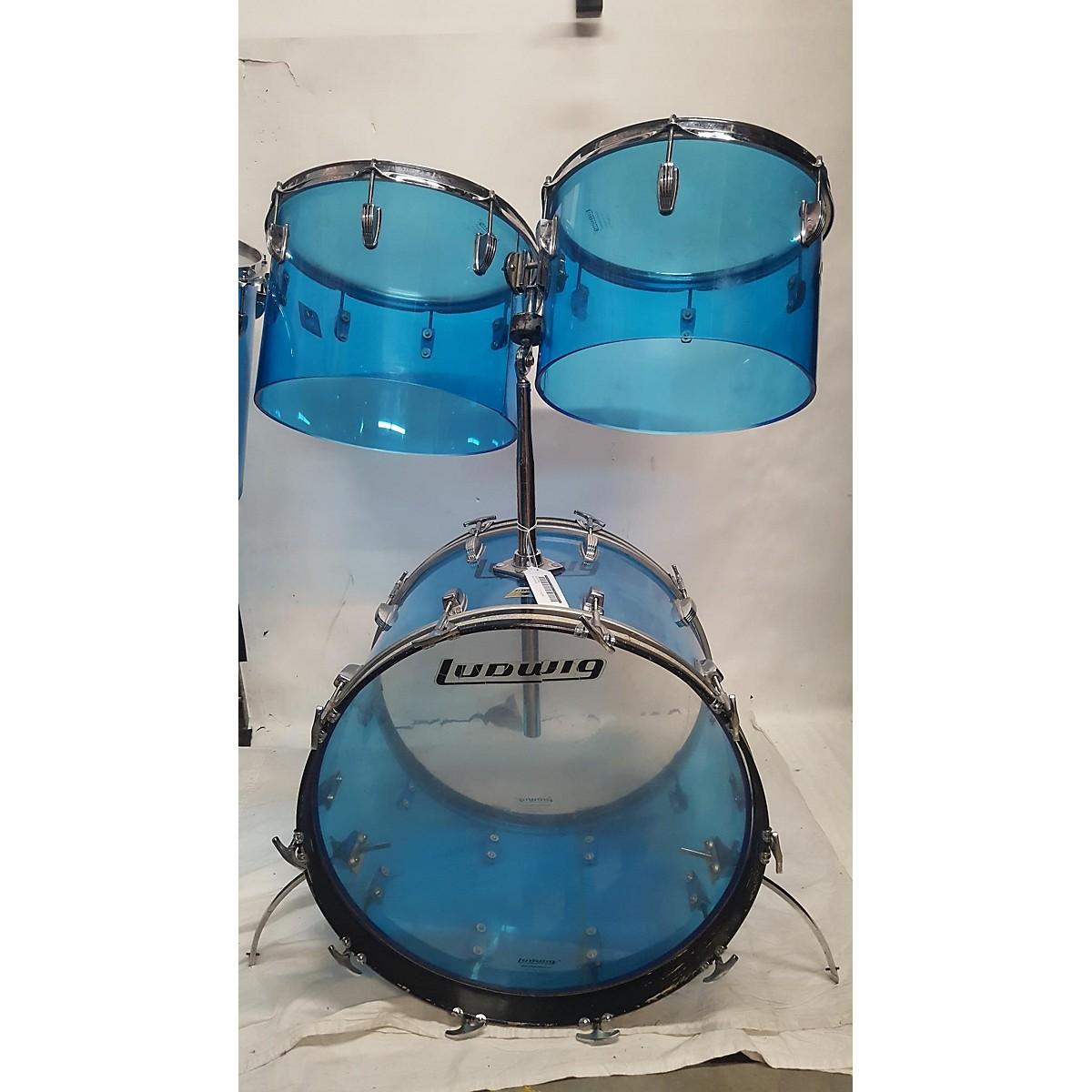 Ludwig 1970 Quadra Plus 6 Piece Drum Kit