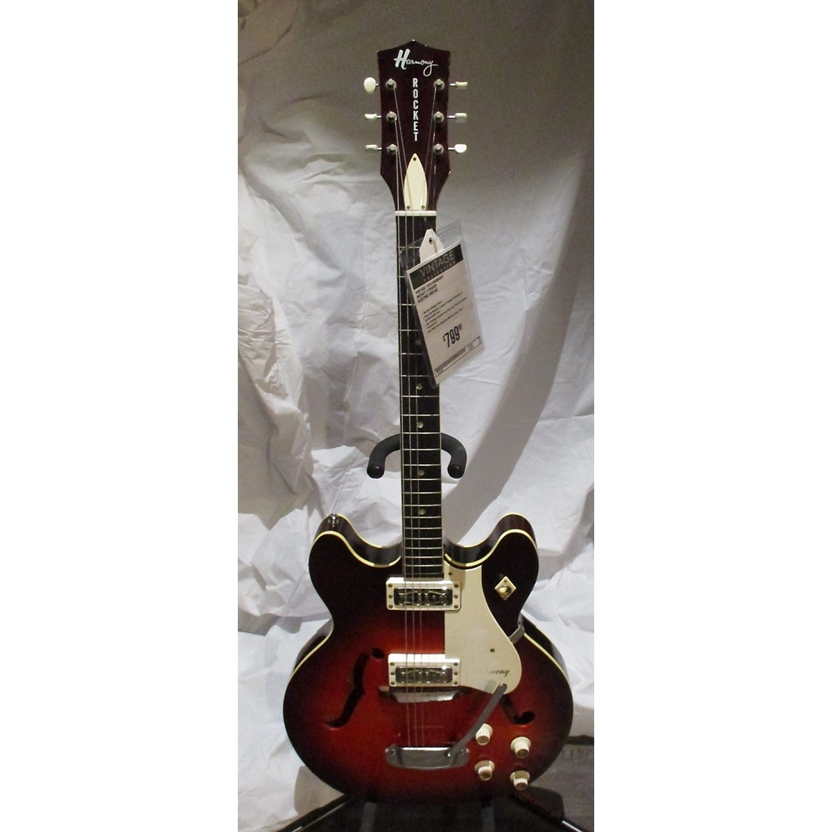 HARMONY 1970 ROCKET 2 PICKUP Hollow Body Electric Guitar