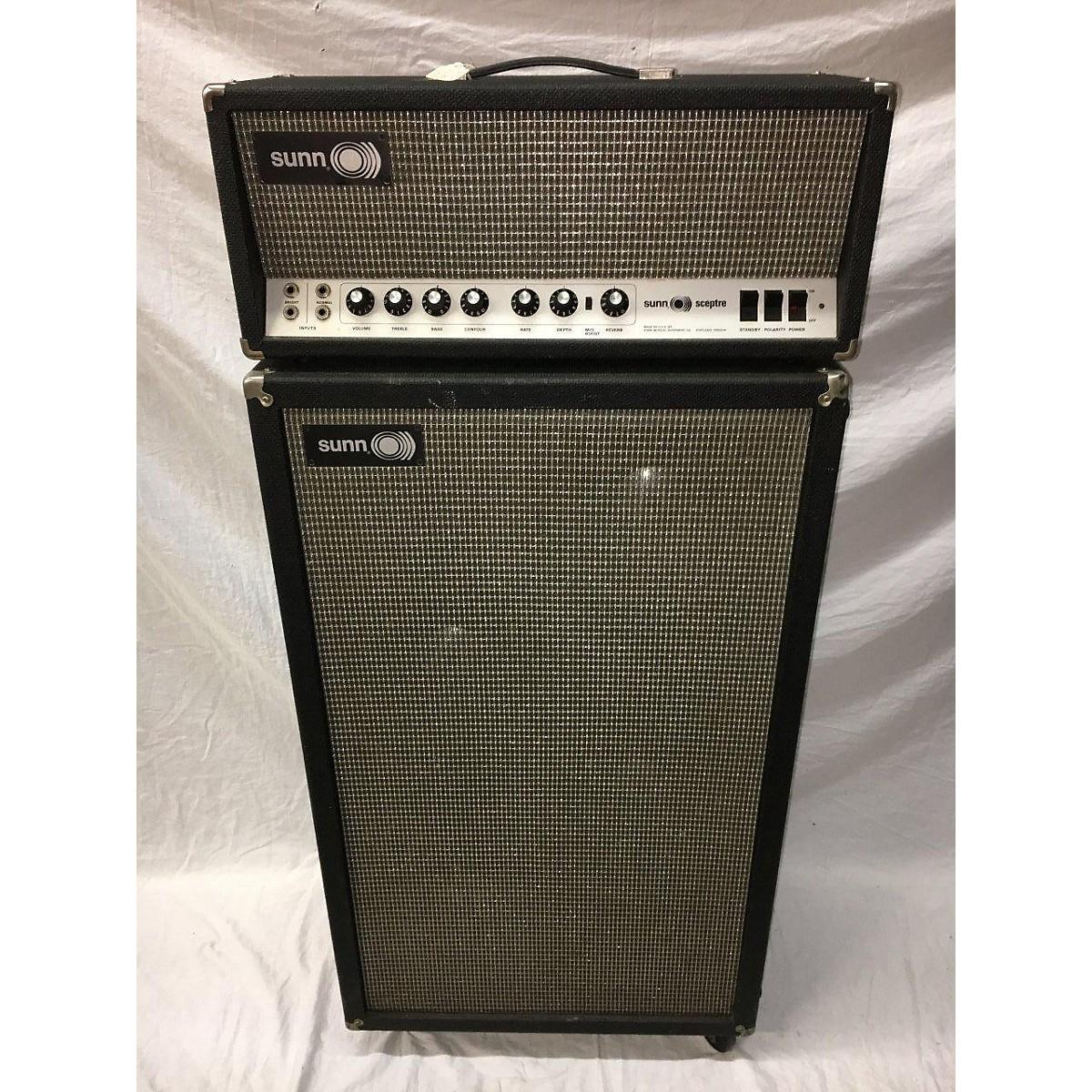 Sunn 1970 SCEPTRE AMP WITH CABINET Tube Guitar Amp Head