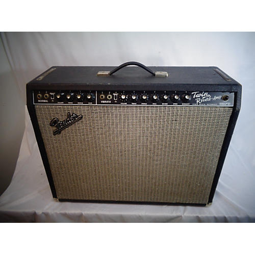 Fender 1970 Twin Reverb 2x12 Tube Guitar Combo Amp