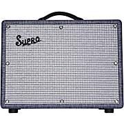 1970RK Keeley Custom 25W Tube Guitar Combo Amplifier Blue