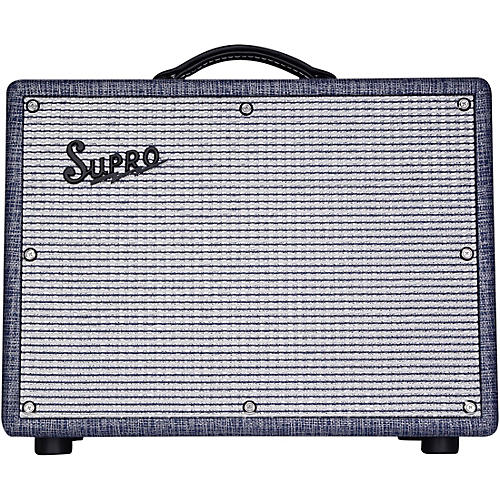supro 1970rk keeley custom 25w tube guitar combo amplifier blue guitar center. Black Bedroom Furniture Sets. Home Design Ideas