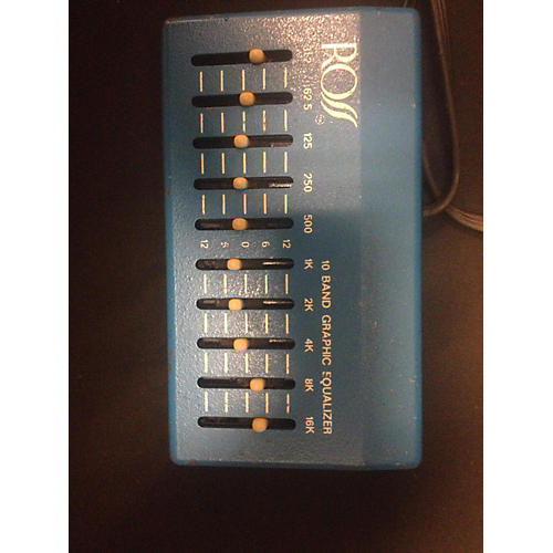 Ross 1970s 10 Band EQ Pedal