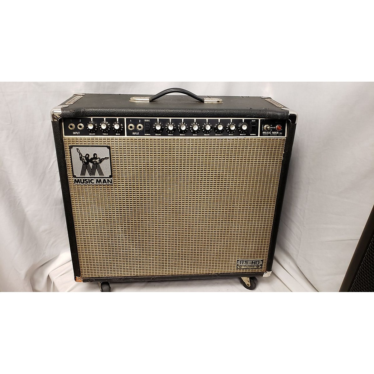 Ernie Ball Music Man 1970s 115HD-130EV Tube Guitar Combo Amp