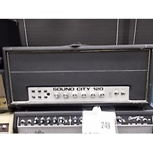Sound City 1970s 120 Tube Guitar Amp Head