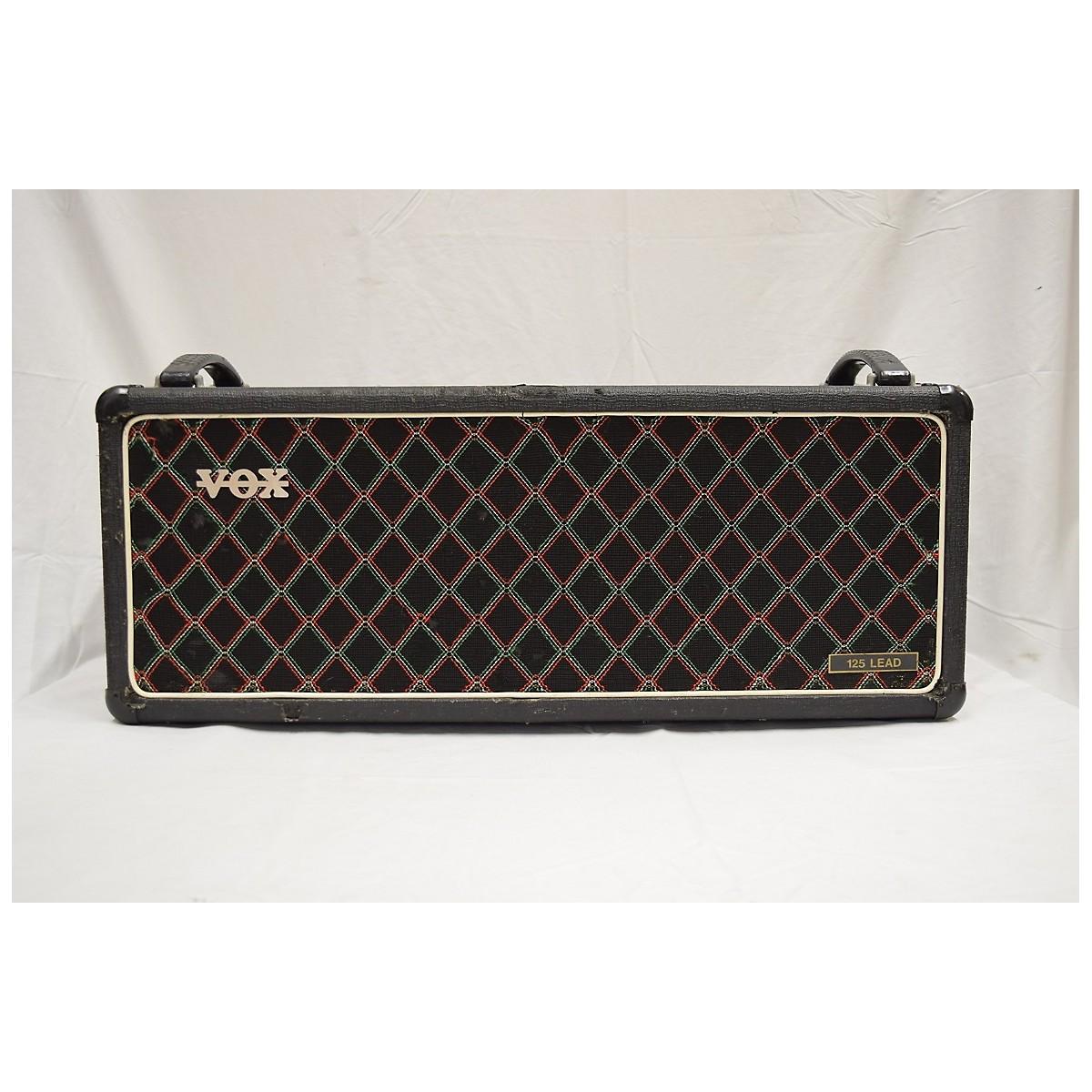 Vox 1970s 125 Lead Tube Guitar Amp Head