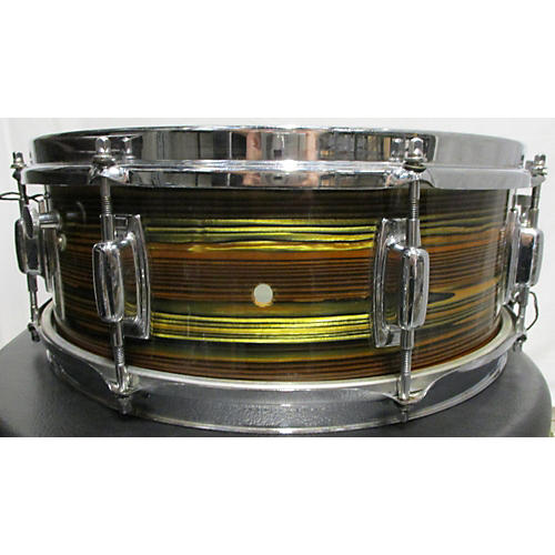 Ludwig 1970s 14X5.5 Snare OHSC Drum