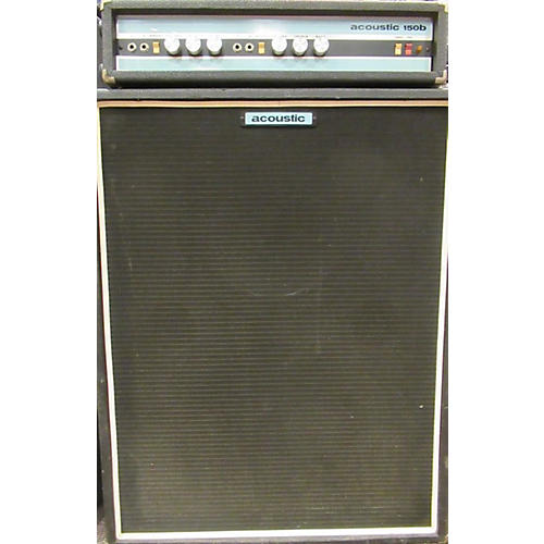 Acoustic 1970s 150B Head And 2X15 Cab Bass Amp Head