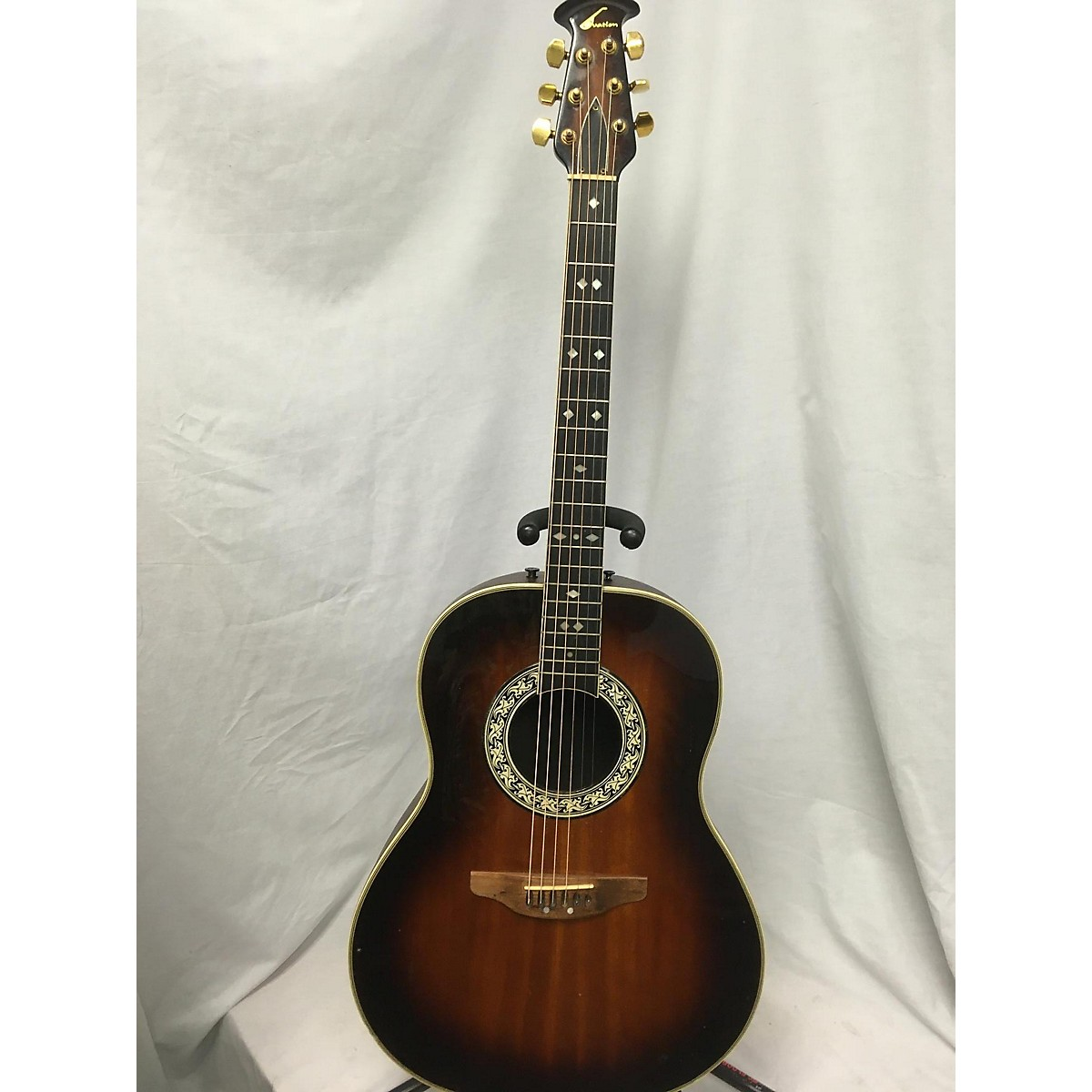 Ovation 1970s 1717 Acoustic Guitar