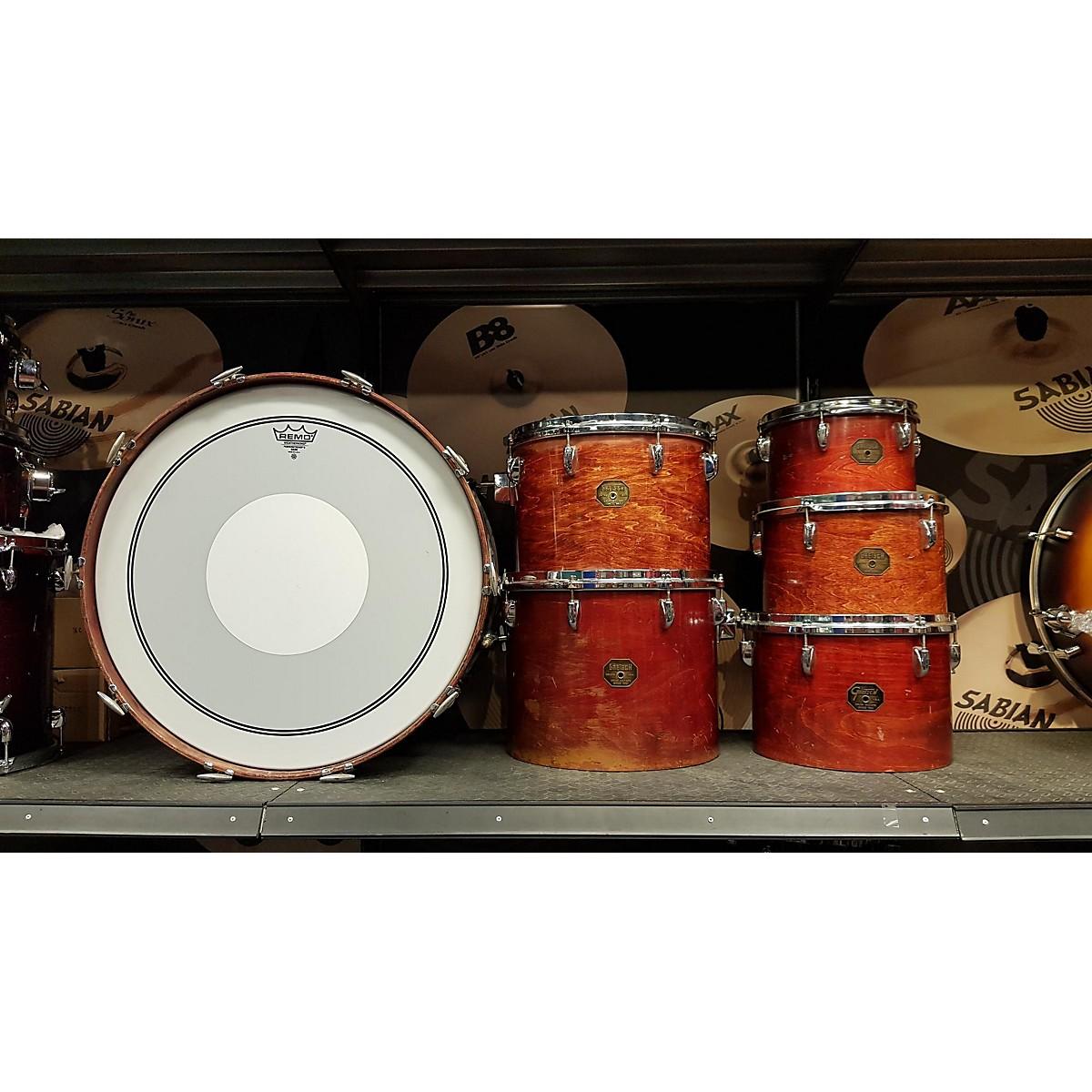 Gretsch Drums 1970s 1970S GRETSCH 6PC KIT WALNUT Drum Kit