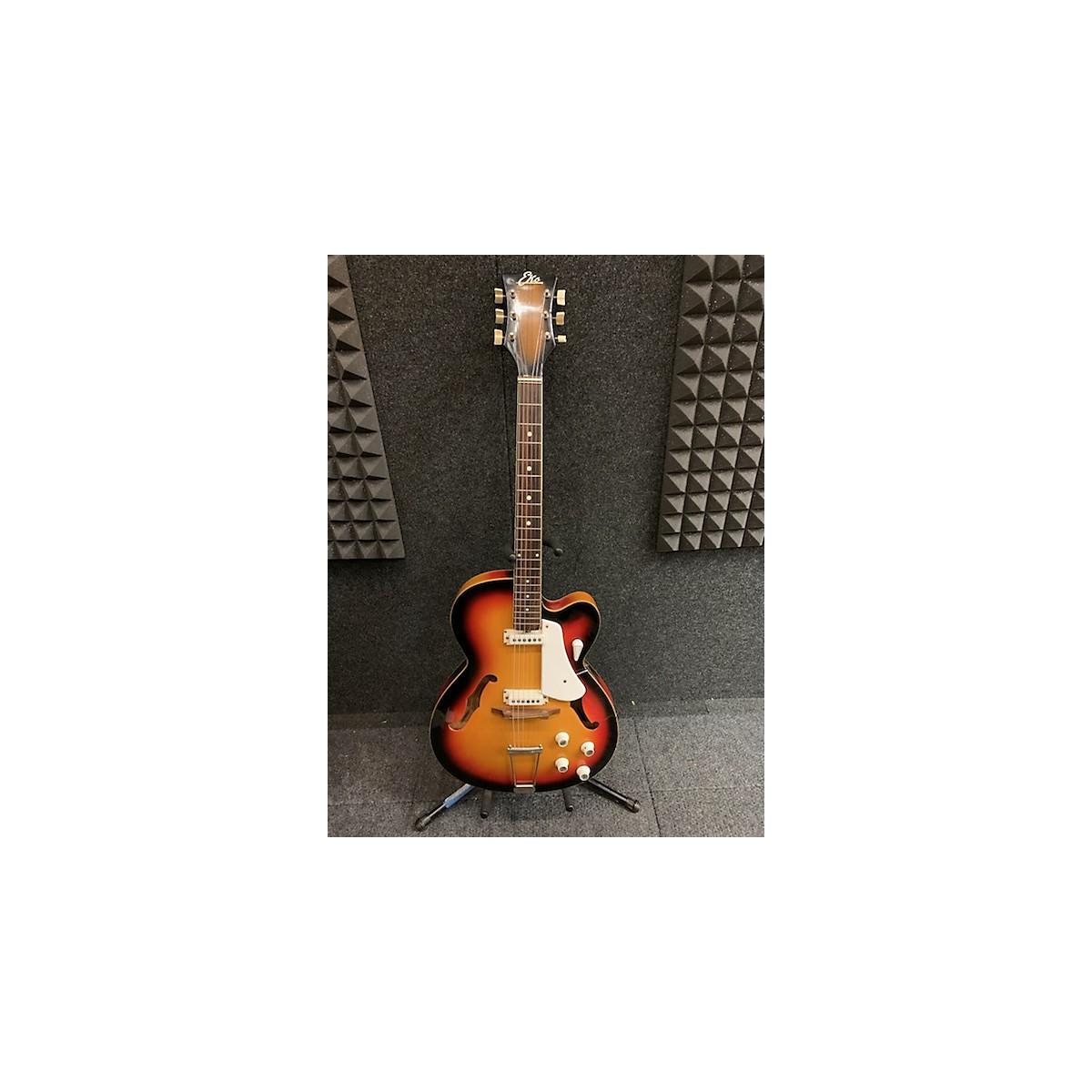 EKO 1970s 1970's EKO LARK II SUNBURST Hollow Body Electric Guitar