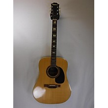 Epiphone 1970s 1970s Epiphone 6830 Natural Acoustic Guitar