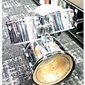 Slingerland 1970s 1970's Slingerland 4 Pc Chrome Wrap Kit thumbnail