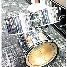 Slingerland 1970s 1970's Slingerland 4 Pc Chrome Wrap Kit