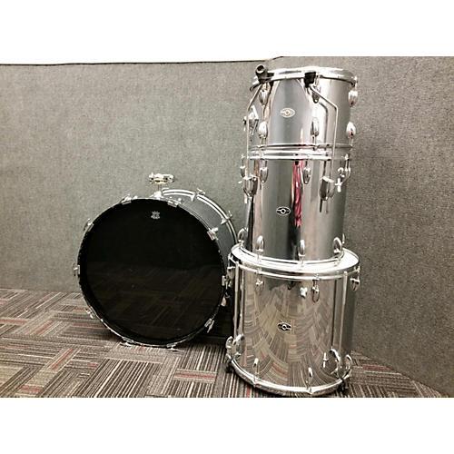 Slingerland 1970s 1970's Stainless Steel Drum Kit