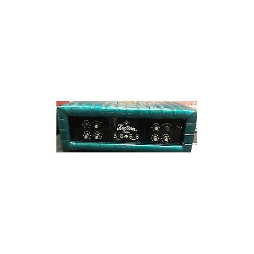 Kustom 1970s 200b Green Solid State Guitar Amp Head