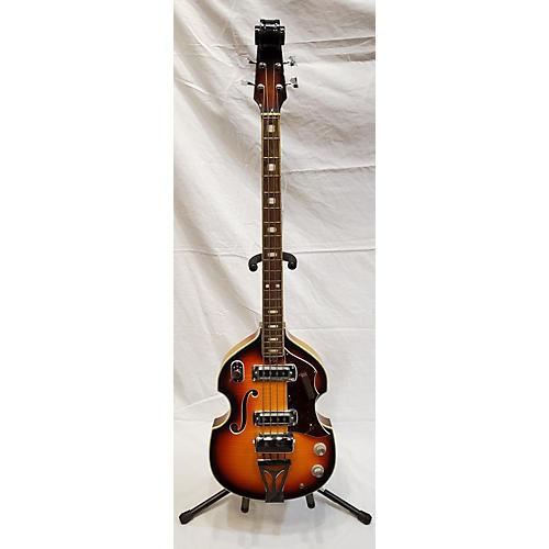 Silvertone 1970s 319 Electric Bass Guitar