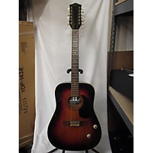 Hofner 1970s 492 E 12 String Acoustic Electric Guitar