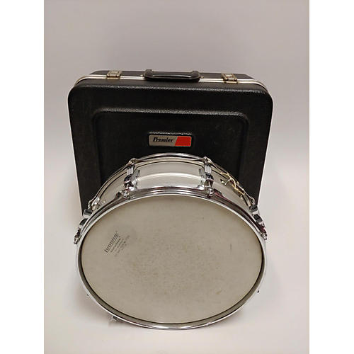 vintage ludwig 1970s 5 5x14 acrolite snare drum silver 10 guitar center. Black Bedroom Furniture Sets. Home Design Ideas