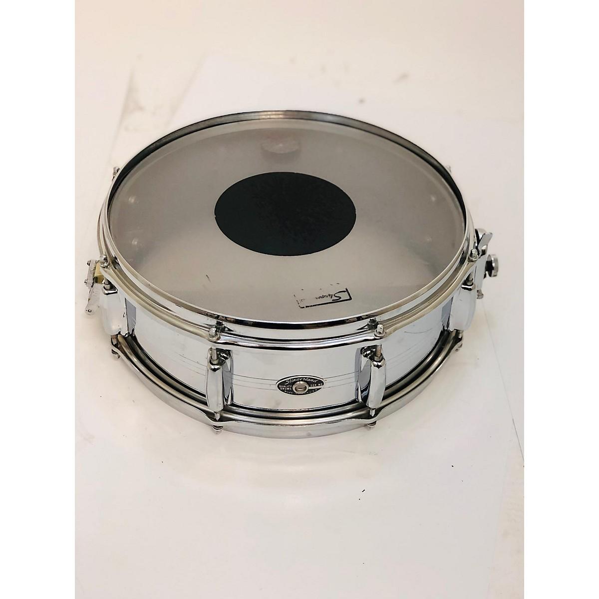 Slingerland 1970s 5.5X14 Chrome Over Brass Drum
