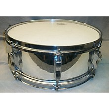 Ludwig 1970s 5.5X14 PIONEER CHROME WRAP Drum
