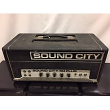 Sound City 1970s 50 Plus Tube Guitar Amp Head