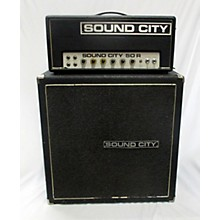 Sound City 1970s 50R Amp With L-80 4x10 Cab Tube Guitar Combo Amp