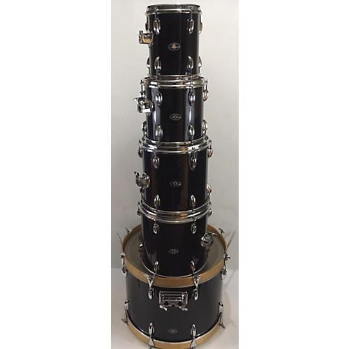 Slingerland 1970s 5PC Kit Black Drum Kit