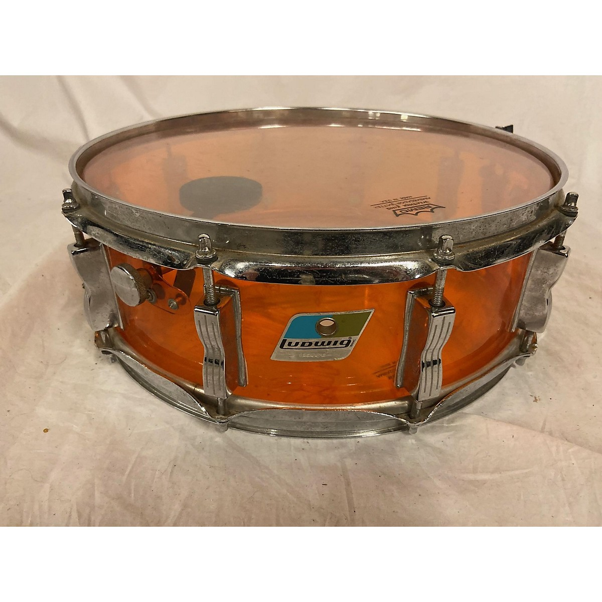 Ludwig 1970s 5X14 Vistalite Snare Drum