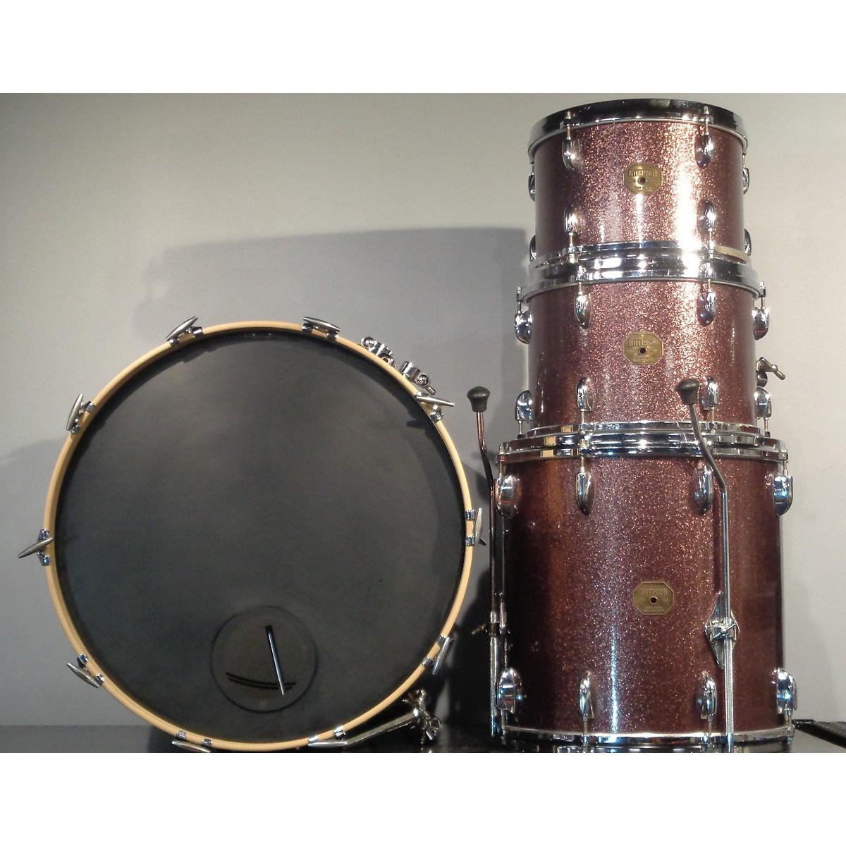 Gretsch Drums 1970s 70's Recording Kit Drum Kit