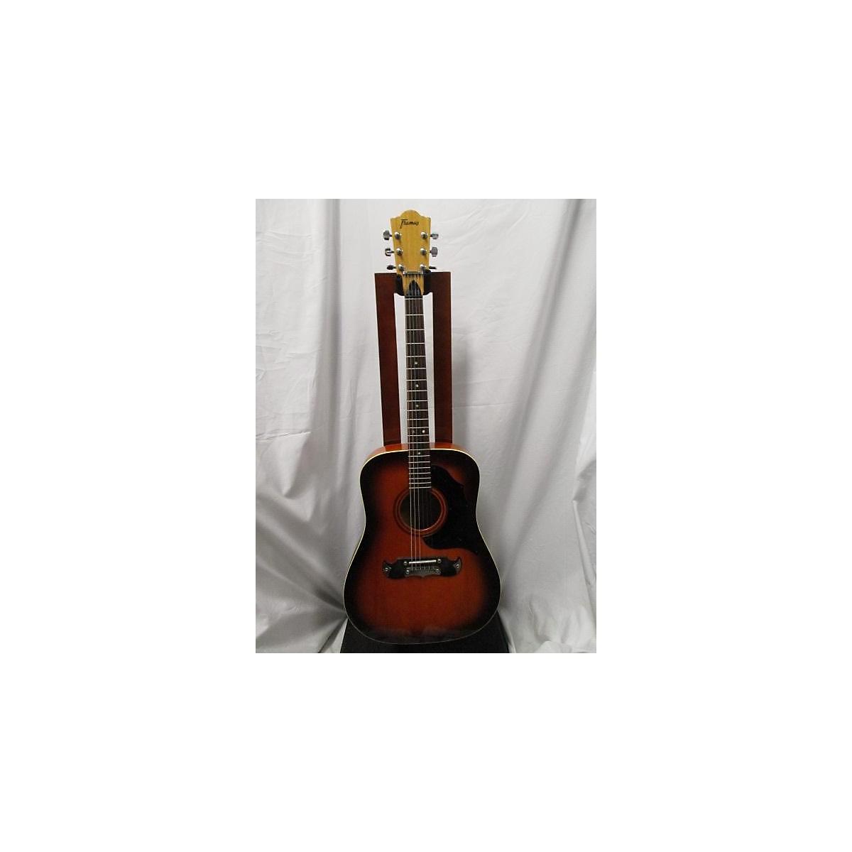 Framus 1970s 74A Acoustic Guitar