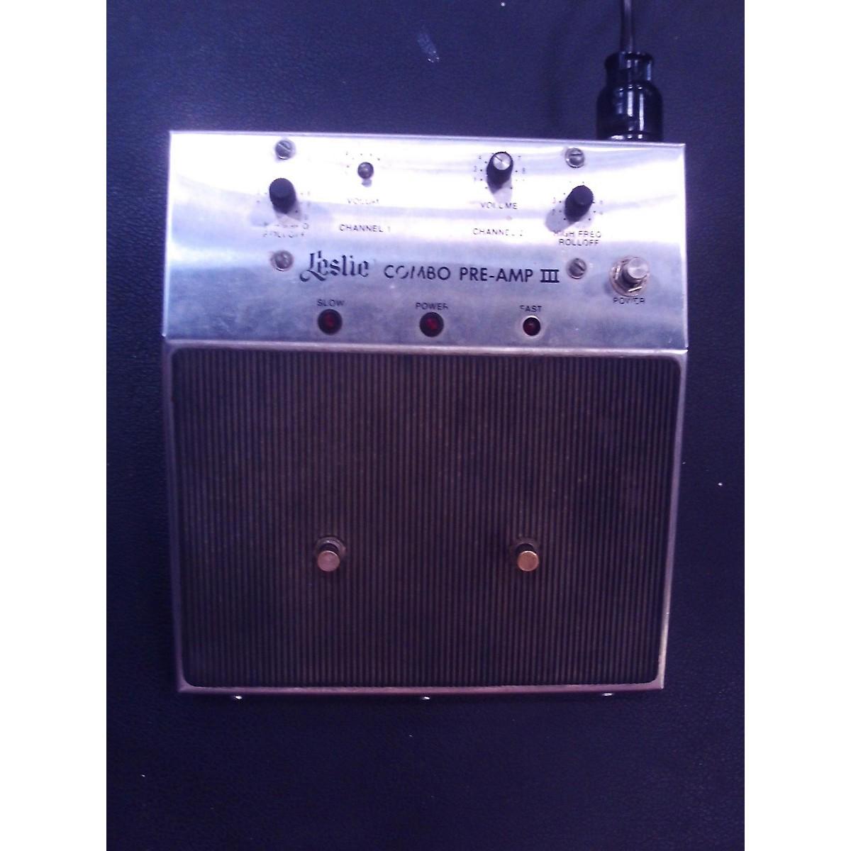 Leslie 1970s 820 Guitar Combo Amp