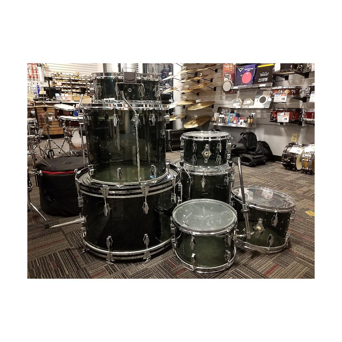 Fibes 1970s Acrylic Drum Kit