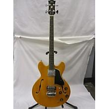 Aria 1970's Aria Hollow Body Bass Natural Electric Bass Guitar