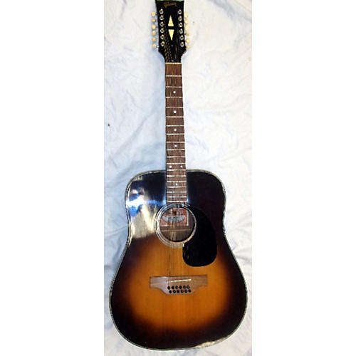 vintage gibson 1970s b45 12 string 12 string acoustic guitar tobacco burst guitar center. Black Bedroom Furniture Sets. Home Design Ideas