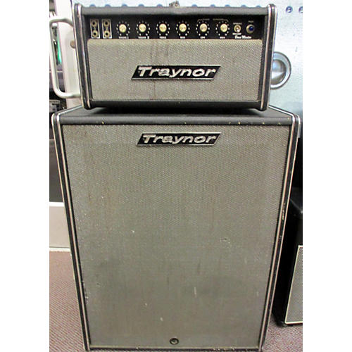Traynor 1970s Bass Master With 4x10 Cab Tube Guitar Amp Head
