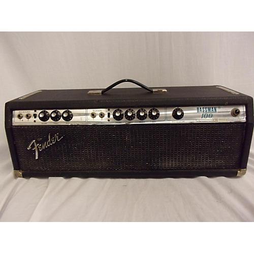 Fender 1970s Bassman 100 W/ 60's Bassman Cab Tube Bass Amp Head