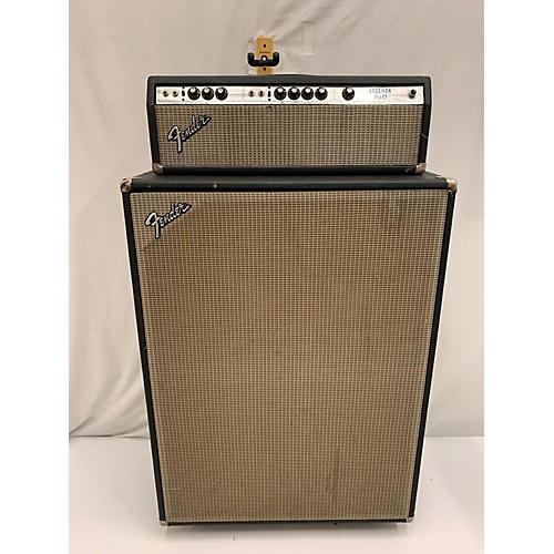 Fender 1970s Bassman 100 W/ Cab Tube Bass Amp Head