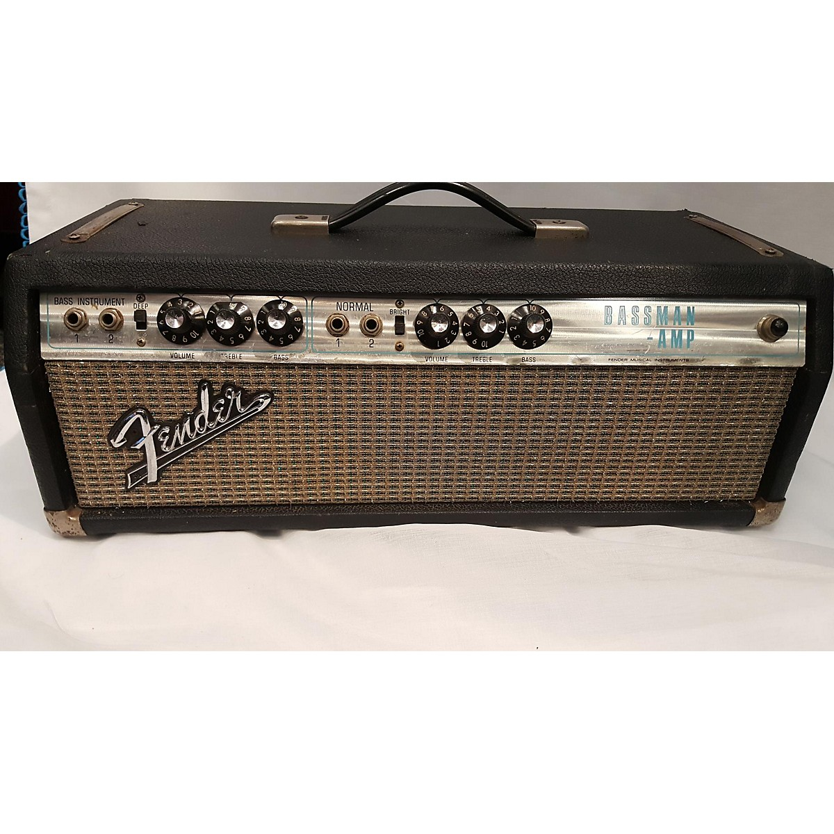 Fender 1970s Bassman Amp Tube Guitar Amp Head