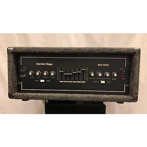Cerwin-Vega 1970s Bg250 Bass Amp Head