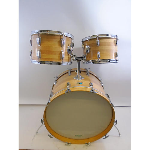 Ludwig 1970s Butcher Block Drum Kit